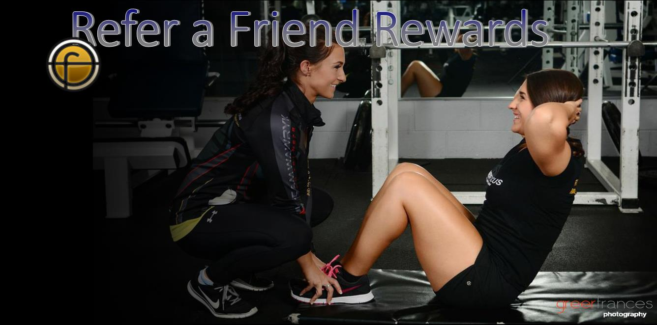 Best Gym Saskatoon refer your friends